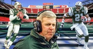 Ray Lucas, Bill Parcells, Victor Green