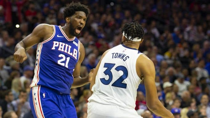 Joel Embiid, Karl-Anthony Towns