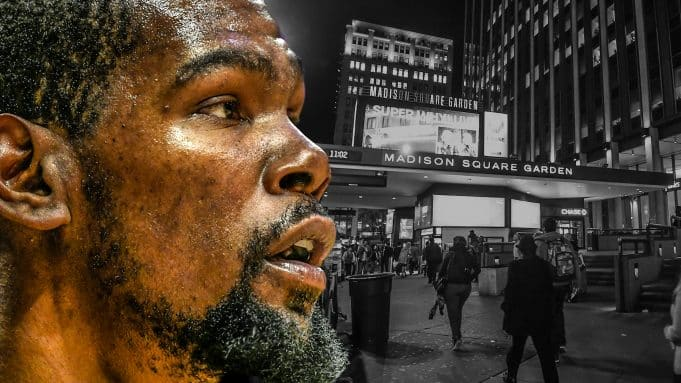 Kevin Durant, Madison Square Garden