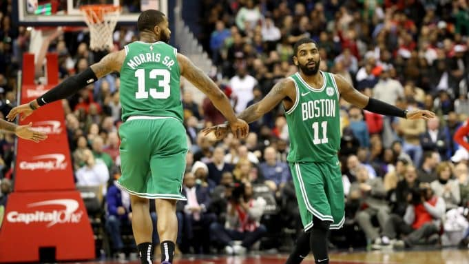 Marcus Morris, Kyrie Irving