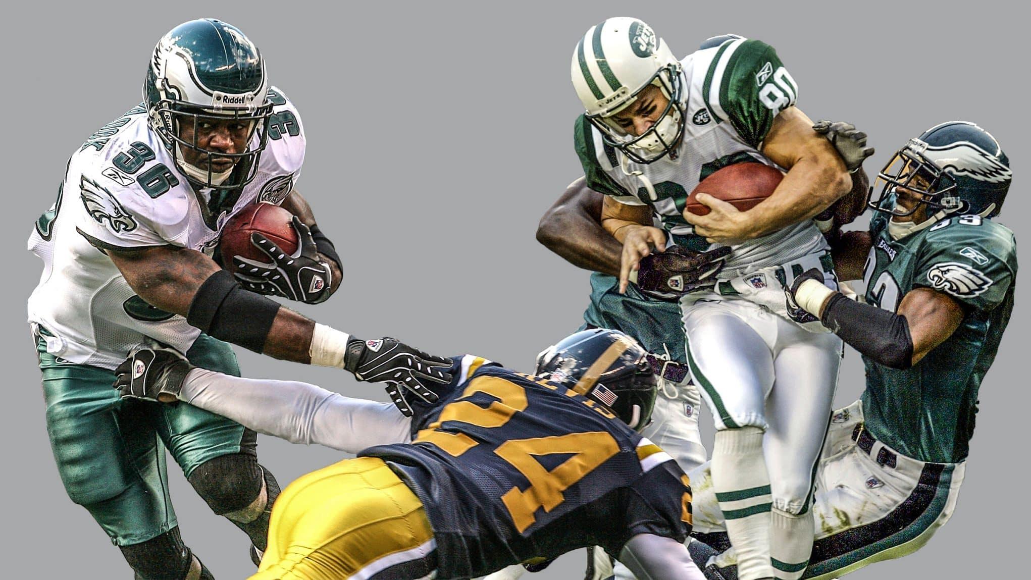New York Jets, Philadelphia Eagles