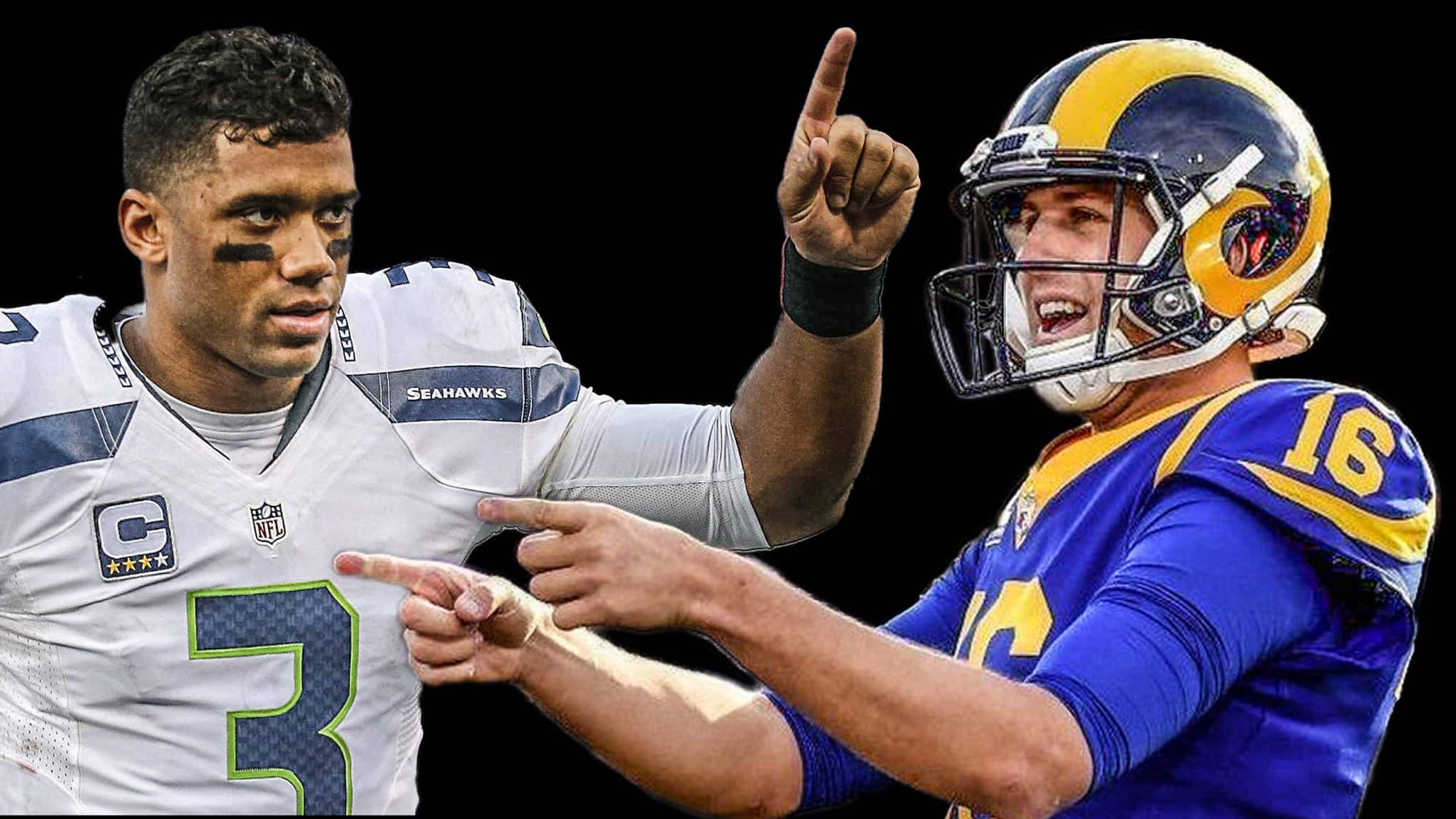 Russell Wilson, Jared Goff