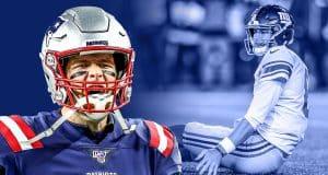 Tom Brady, Daniel Jones