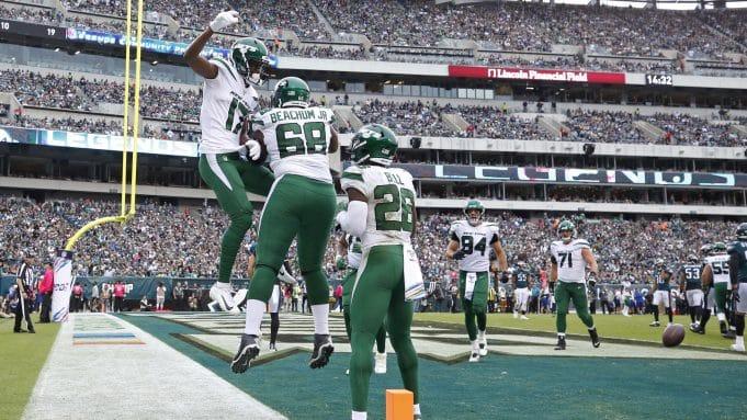 New York Jets Vyncint Smith