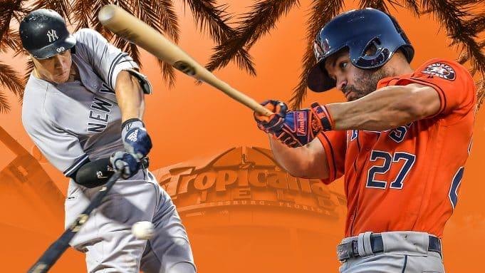 Aaron Judge, Jose Altuve, Tropicana Field