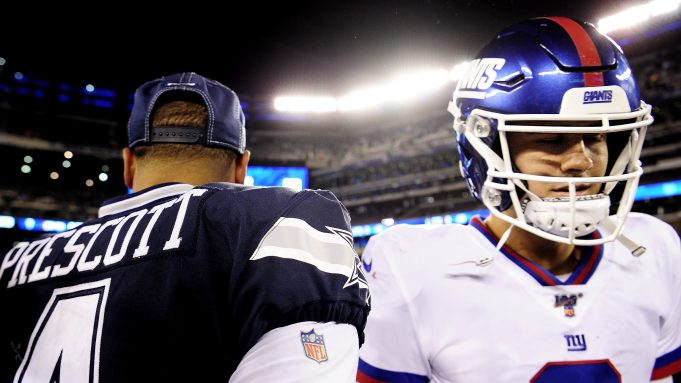 Dak Prescott, New York Giants Daniel Jones