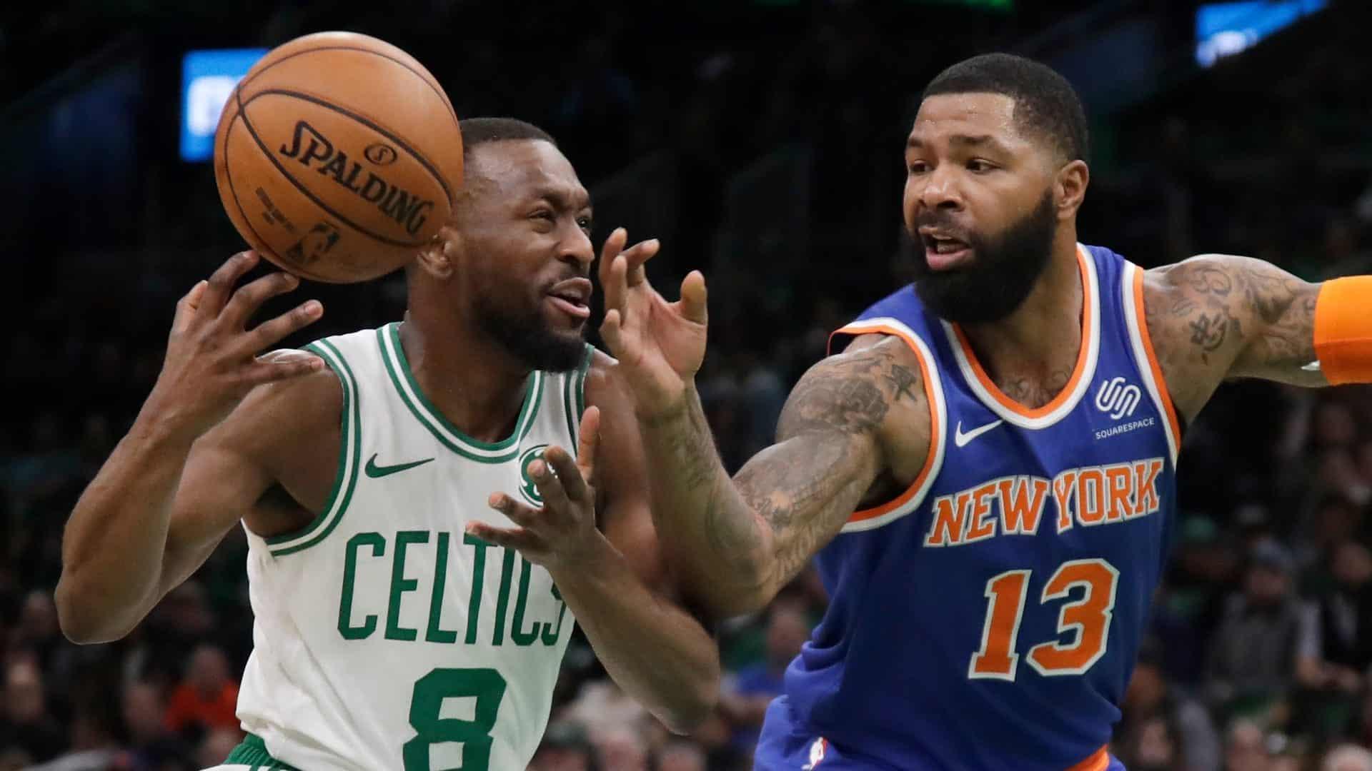 New York Knicks Battle For 4 Quarters But Can T Crack The Boston Celtics