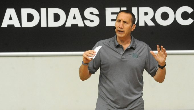 TREVISO, ITALY - JUNE 11: Former NBA coach David Blatt attends the Adidas Eurocamp Day Two at La Ghirada sports center on June 11, 2016 in Treviso, Italy.