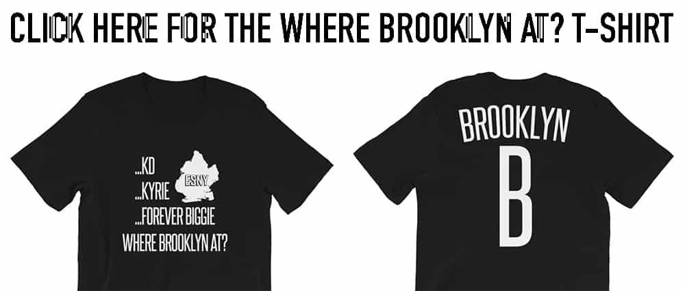 Brooklyn Nets, Where Brooklyn At? T-Shirt