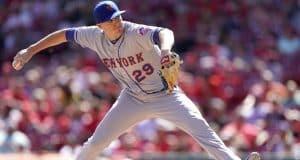 CINCINNATI, OHIO - SEPTEMBER 22: Brad Brach #29 of the New York Mets pitches in the game against the Cincinnati Reds at Great American Ball Park on September 22, 2019 in Cincinnati, Ohio.