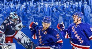 Henrik Lundqvist, Derek Stepan, Ryan McDonagh, 2014 New York Rangers