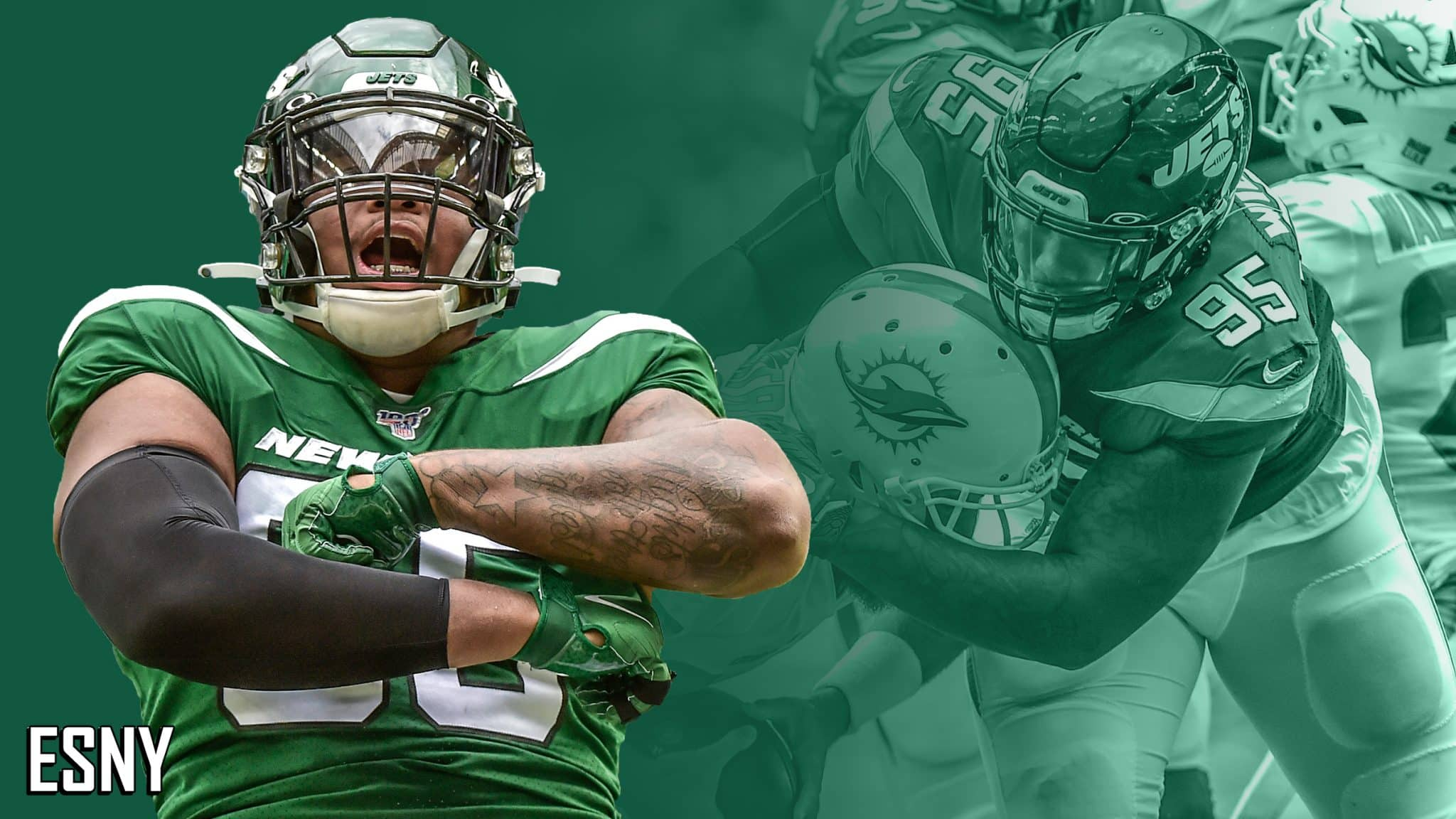 The delightful education of New York Jets youngster Quinnen Williams