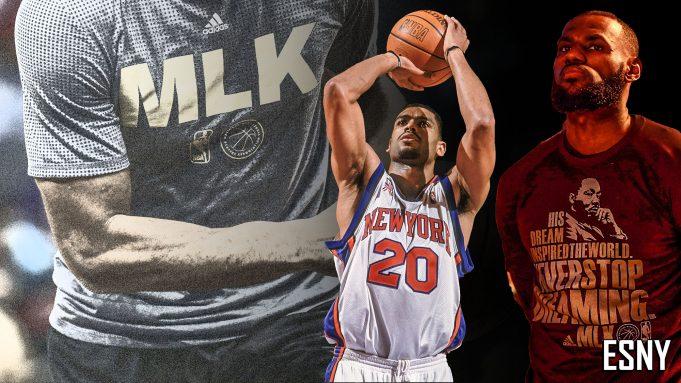 Allan Houston, LeBron James
