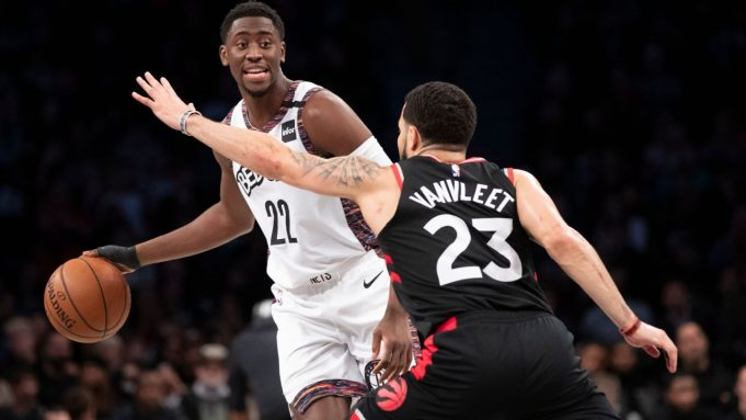 Nets guard Caris LeVert scored 13 points in 16 minutes of action Saturday night in his return from a thumb injury. LeVert's return couldn't spark the Nets, who lost their fifth straight game.