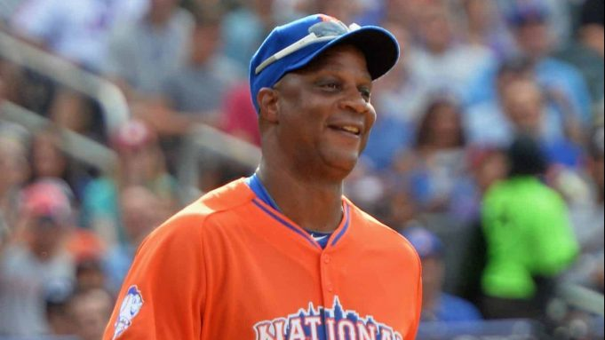 NEW YORK, NY - JULY 14: Former professional baseball player Darryl Strawberry attends the Taco Bell All-Star Legends & Celebrity Softball Game at Citi Field on July 14, 2013 in New York City.