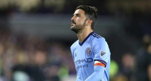 ORLANDO, FL - MARCH 05: David Villa #7 of New York City FC is seen on the field during a MLS soccer match between New York City FC and Orlando City SC at the Orlando City Stadium on March 5, 2017 in Orlando, Florida.