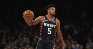 Dennis Smith Jr. is denying he wants out of New York.