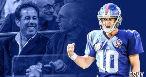 Eli Manning, Jerry Seinfeld, Larry David