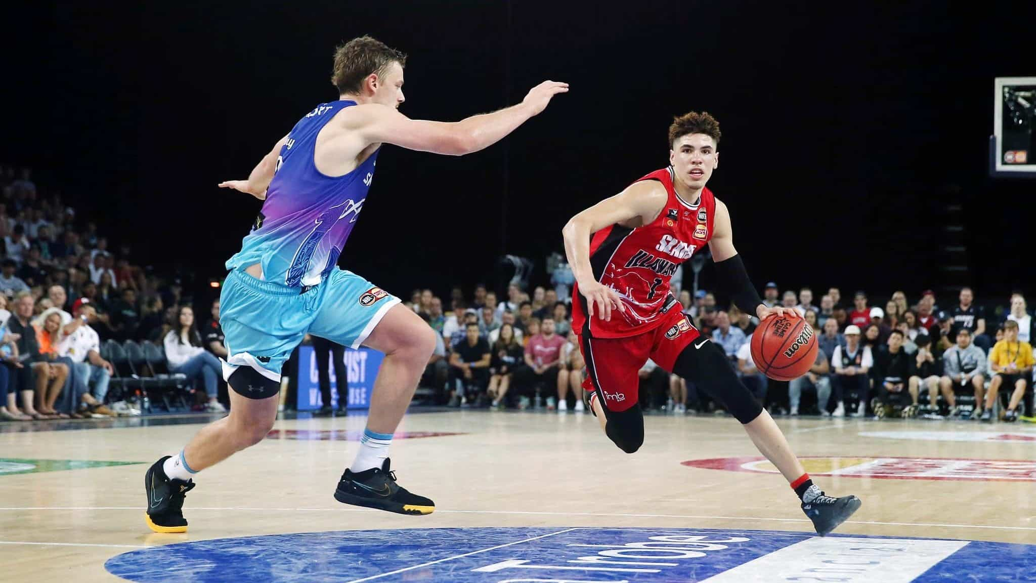 New York Knicks News Lonzo Ball Believes Lamelo Ball Could Thrive In Ny