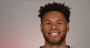 WASHINGTON, DC - SEPTEMBER 30: Justin Anderson #7 of the Washington Wizards poses during media day at Medstar Wizards Performance Center on September 30, 2019 in Washington, DC. NOTE TO USER: User expressly acknowledges and agrees that, by downloading and/or using this photograph, user is consenting to the terms and conditions of the Getty Images License Agreement.