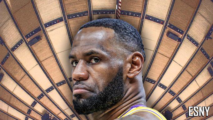 LeBron James, Madison Square Garden