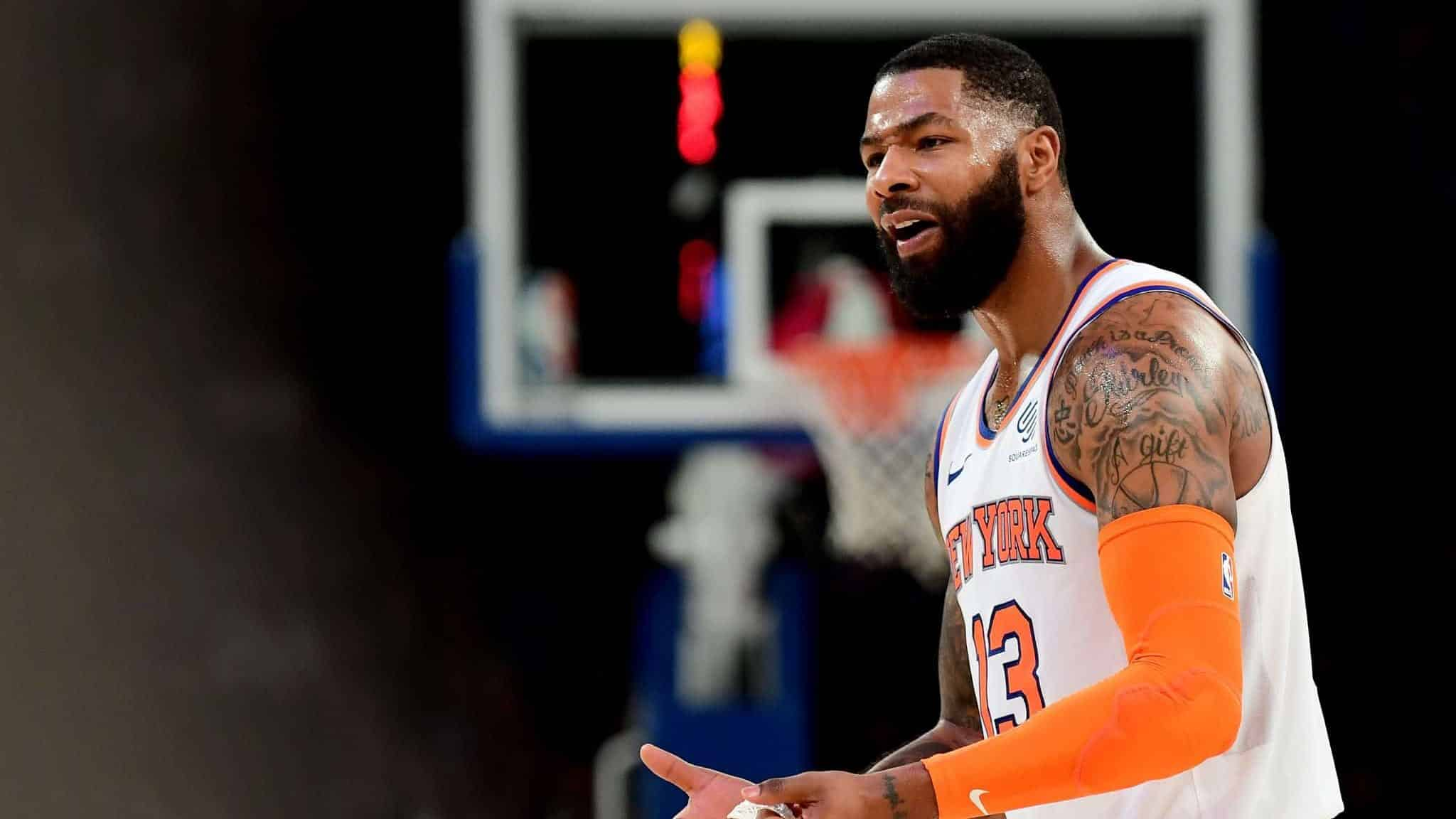 New York Knicks News Marcus Morris Sr Doubtful For Tuesday S Game