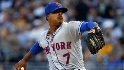 PITTSBURGH, PA - AUGUST 03: Marcus Stroman #7 of the New York Mets pitches in the first inning against the Pittsburgh Pirates at PNC Park on August 3, 2019 in Pittsburgh, Pennsylvania. Stroman was making his first start for the Mets since being traded by the Toronto Blue Jays on Sunday.
