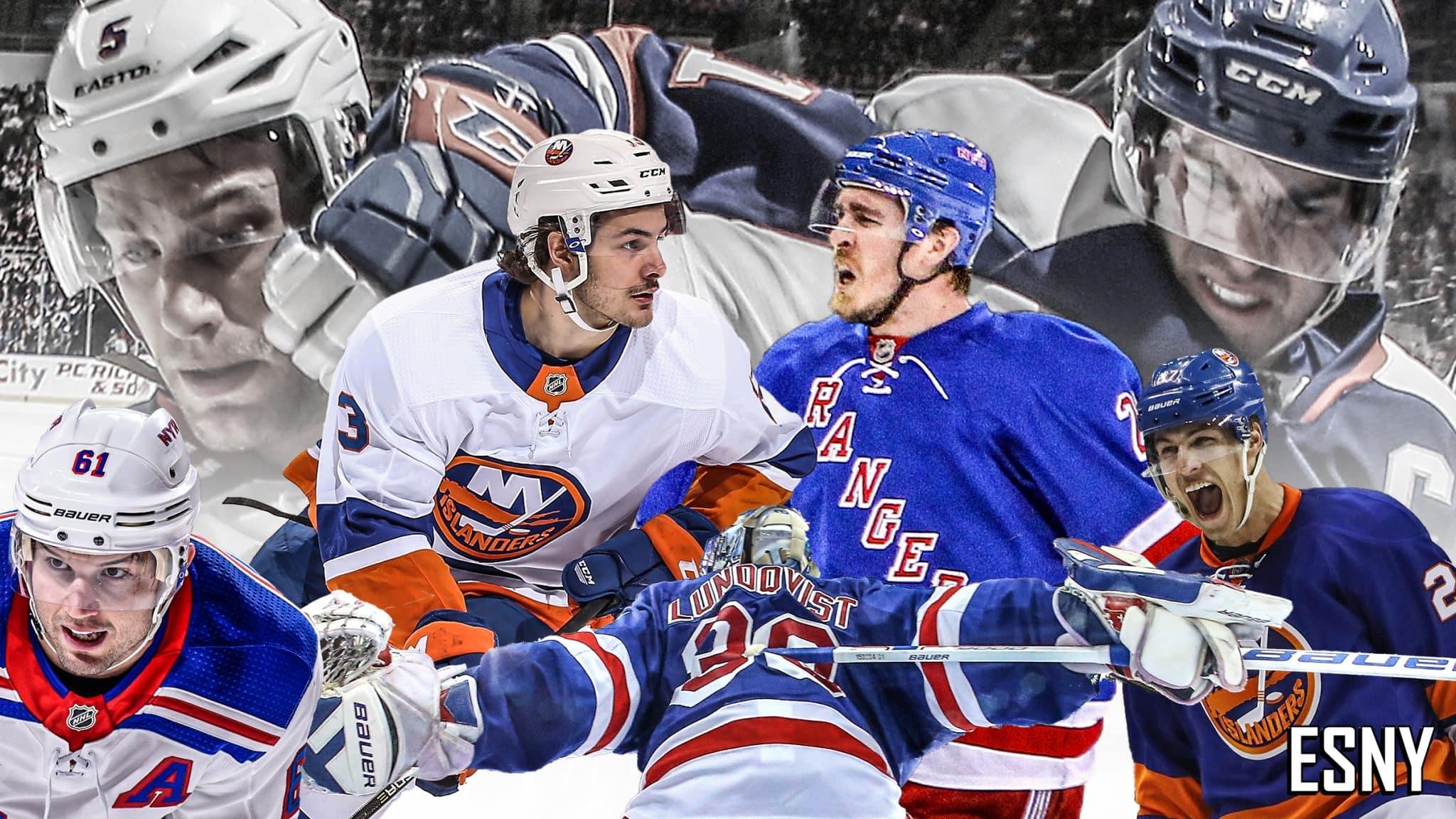 New York Rangers, Islanders