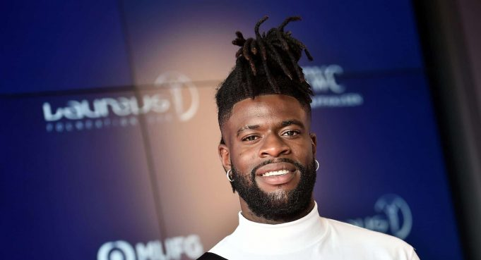 NEW YORK, NEW YORK - SEPTEMBER 10: Reggie Bullock attends the 2019 Laureus Fashion Show Gala during New York Fashion Week, bringing together sport and fashion to shine a light on Sport for Good at Mercedes-Benz Manhattan on September 10, 2019 in New York City.