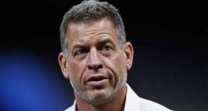 NEW ORLEANS, LA - NOVEMBER 04: Hall of Fame quarterback and Fox Sports analyst Troy Aikman attends the game between the Los Angeles Rams and the New Orleans Saints at Mercedes-Benz Superdome on November 4, 2018 in New Orleans, Louisiana.