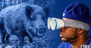 Yoenis Cespedes, Wild Boar