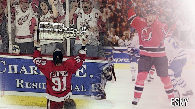New Jersey Devils, Detroit Red Wings