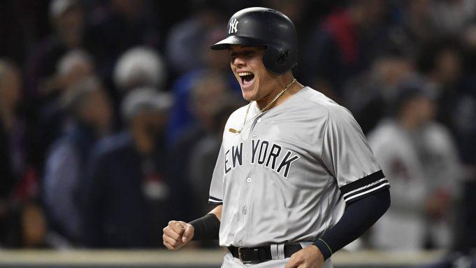 New York Yankees Gio Urshela