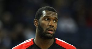 OAKLAND, CA - NOVEMBER 20: Greg Oden #52 of the Portland Trail Blazers looks on against the Golden State Warriors during an NBA game at Oracle Arena on November 20, 2009 in Oakland, California.
