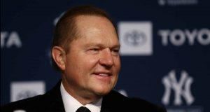 NEW YORK, NEW YORK - DECEMBER 18: Sports Agents Scott Boras looks on during the New York Yankees press conference to introduce Gerrit Cole at Yankee Stadium on December 18, 2019 in New York City.