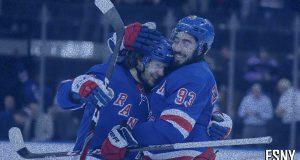 New York Rangers Artemi Panarin, Mika Zibanejad