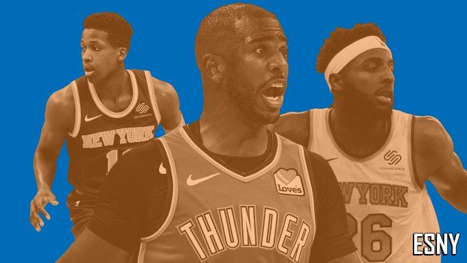 New York Knicks trades