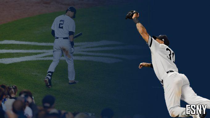 New York Yankees Derek Jeter, Aaron Hicks