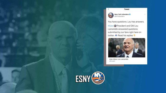 Lou Lamoriello New York Islanders