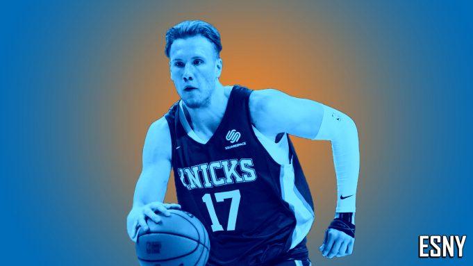 New York Knicks Ignas Brazdeikis