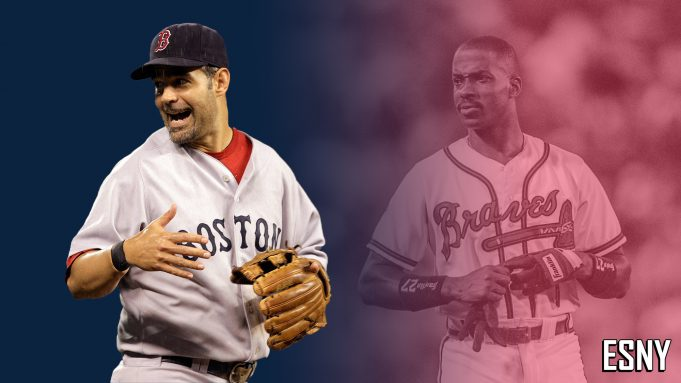 New York Yankees Mike Lowell, Fred McGriff