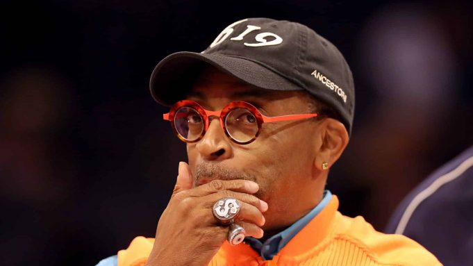 CHARLOTTE, NORTH CAROLINA - FEBRUARY 16: Spike Lee, film director, attends the Taco Bell Skills Challenge as part of the 2019 NBA All-Star Weekend at Spectrum Center on February 16, 2019 in Charlotte, North Carolina.