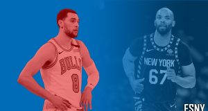 New York Knicks Zach LaVine, Taj Gibson
