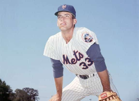 Ron Hunt, baseball player with the New York Mets baseball team in March 1966.