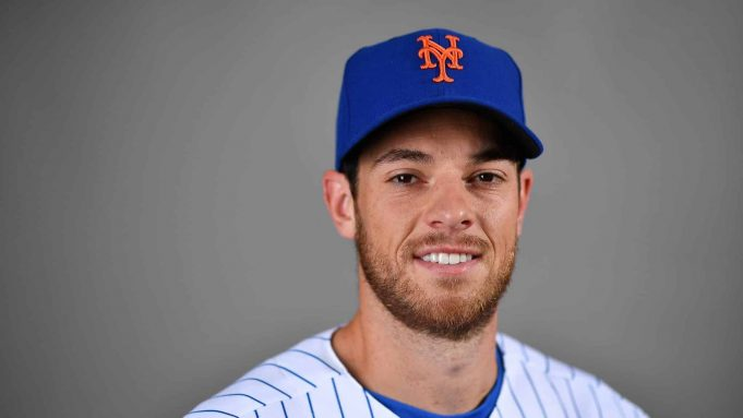 PORT ST. LUCIE, FLORIDA - FEBRUARY 20: Steven Matz #32 of the New York Mets poses for a photo during Photo Day at Clover Park on February 20, 2020 in Port St. Lucie, Florida.