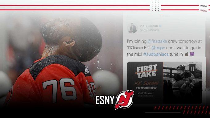 New Jersey Devils P.K. Subban