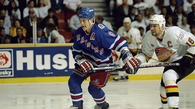 New York Rangers Adam Graves