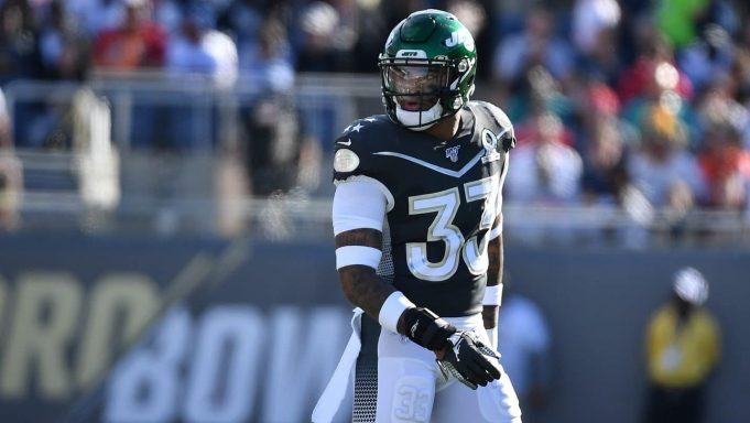 ORLANDO, FLORIDA - JANUARY 26: Jamal Adams #33 of the New York Jets looks on in the first half of the 2020 NFL Pro Bowl at Camping World Stadium on January 26, 2020 in Orlando, Florida.