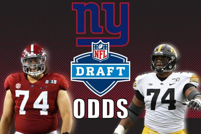 giants nfl draft odds