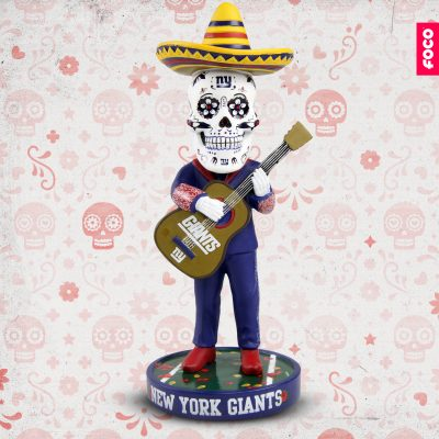 New York Giants Day of the Dead Bobblehead by FOCO